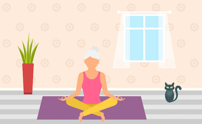 Mental Health During COVID-19, meditate